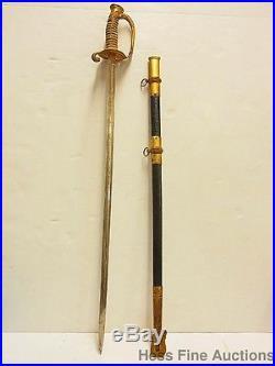 Wm Horstmann Philadelphia 1924 Jasper Fleming USN Military Naval Academy Sword