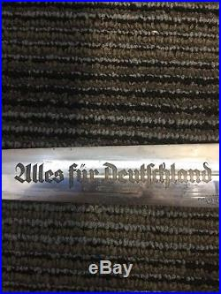 Ww2 German Sa Dagger