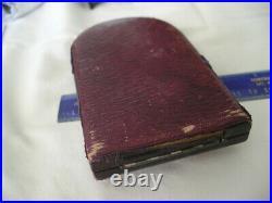 Wwi British Military Cross Geo V Original Case Ribbon And Clasp No Medal