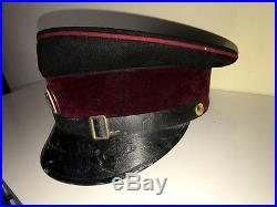 Yugoslavia Kingdom pre WWII dress GUARDS officer visor Cap hat serbia old peaked